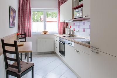 Küche Ferienwohnung 2.2